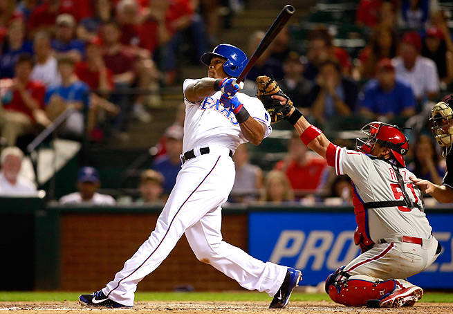 Adrian Beltre hit the 15-day DL with a left quad strain, which has plagued him since spring training.
