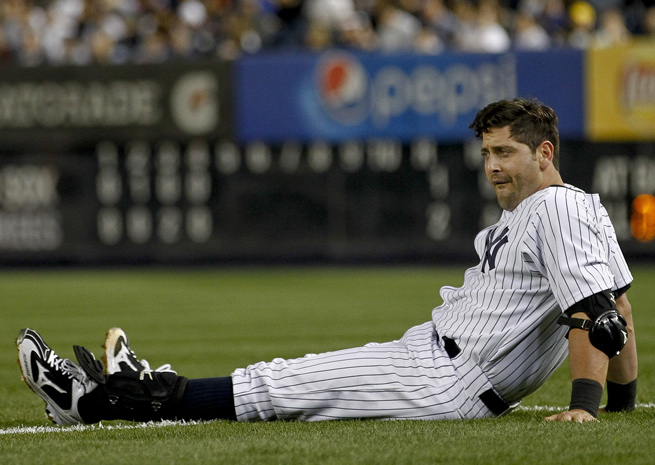 A hamstring injury suffered running the bases landed Francisco Cervelli on the disabled list.
