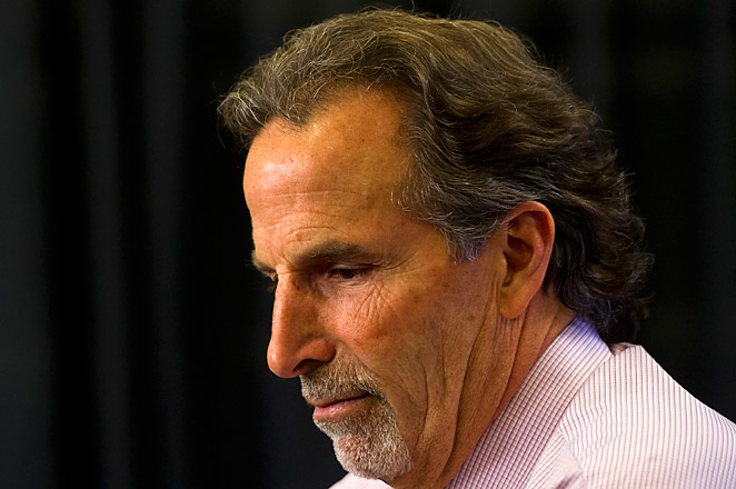 Canucks coach John Tortorella had two heated run-ins this season with Calgary's Bob Hartley.