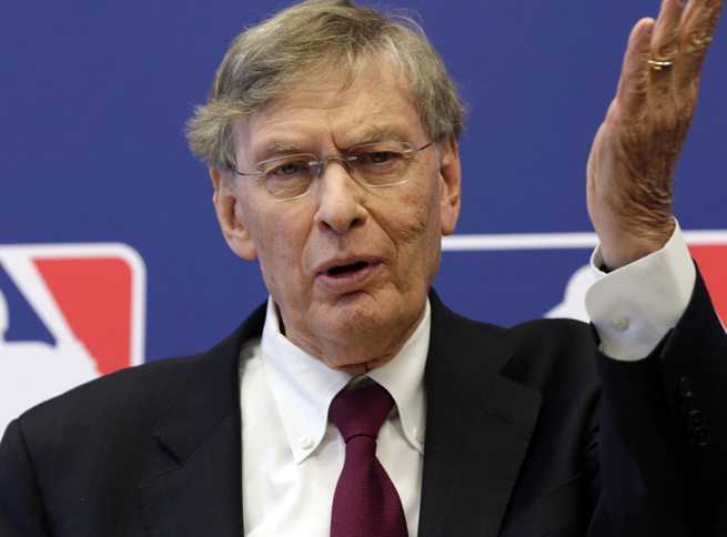 Bud Selig told reporters that he feels there has been very little controversy with instant replay.