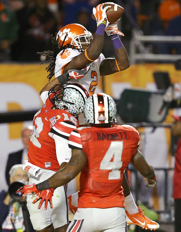 <bold><underline>SI VIDEO</underline></bold><bold> > </bold><bold>WHO ARE THE BEST RECEIVERS IN THIS YEAR'S DRAFT?</bold> <bold>This year's receiver class looks like one of the best in recent memory. Peter King explains why and who sits at the top of the crop, headlined by Clemson's Sammy Watkins (pictured).</bold>