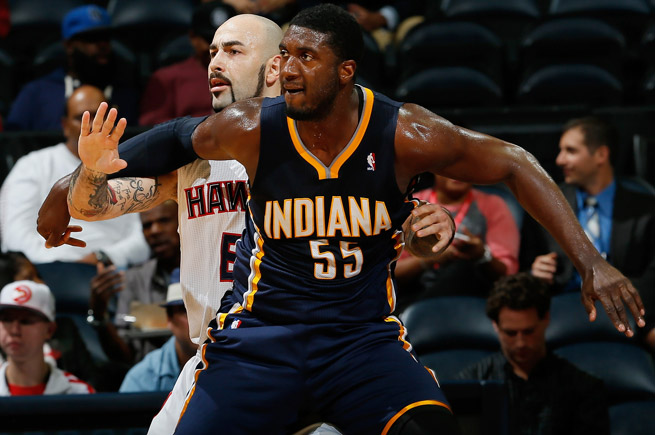 Roy Hibbert's ability to stay on the floor and weather his recent slump could decide this East series.