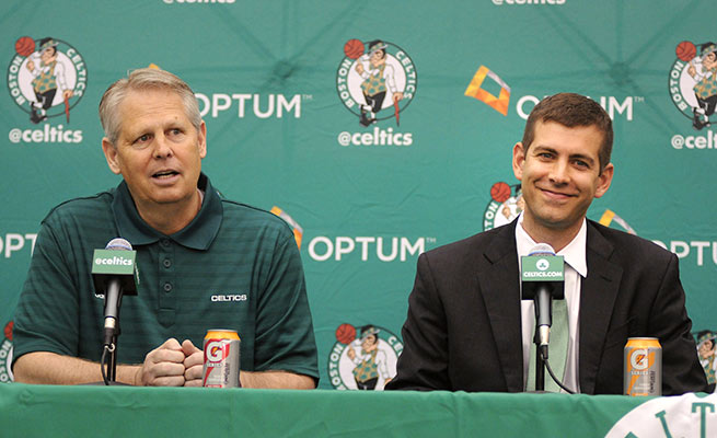In the first year of a drastic rebuild, the Celtics lost the fifth-most games (57) in franchise history.