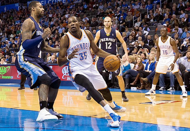 Scoring champion Kevin Durant will go up against one of the NBA's top defenses in the first round.