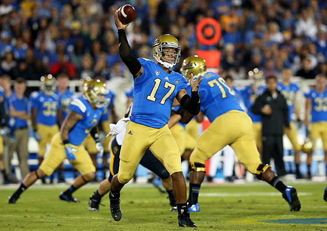 After passing for 3,071 yards and 24 TDs last fall, Brett Hundley elected to return for his junior season.
