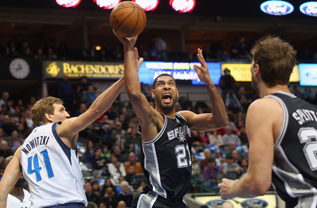 After falling just seconds short of a title last year, Tim Duncan and the Spurs are back as a No. 1 seed.