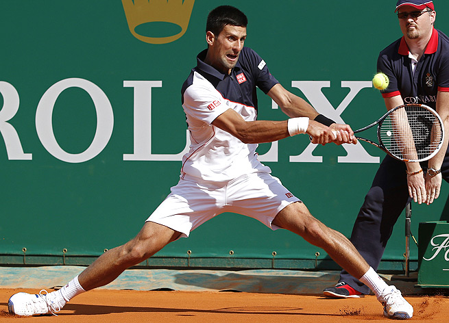 Novak Djokovic lost only one game against Pablo Carreno Busta in the quarterfinals of the Monte Carlo Masters.