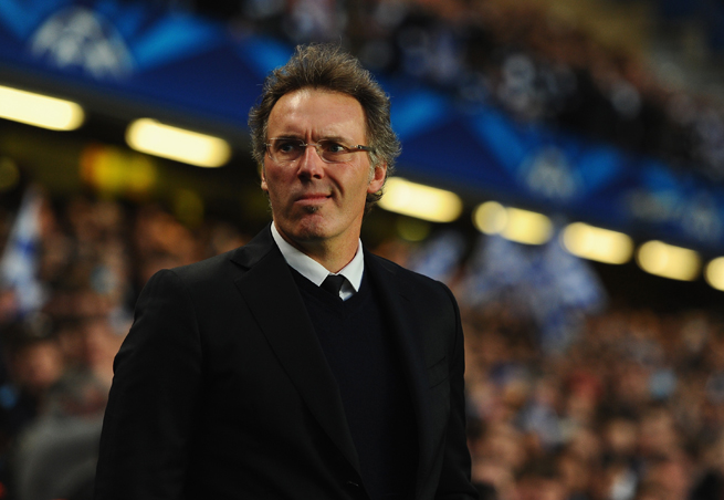 PSG manager Laurent Blanc held off on signing a contract extension, and he might be out of a job after the club's recent slide.