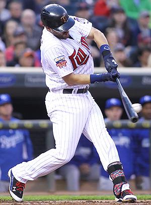 Chris Colabello has a league-leading 19 RBI so far this season.