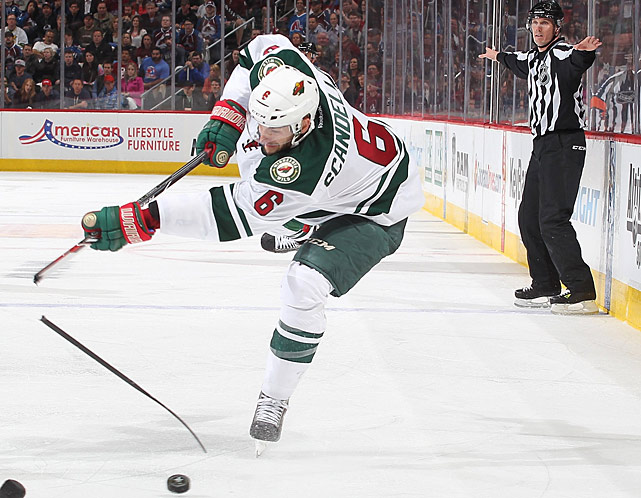 Scandella worked hard on his all-around game this season, advancing it to the point where he became a trusted regular in Minnesota's lineup. Still, it is his puck-moving ability that allows him to stand out. On the rare occasions that Ryan Suter leaves the ice, Scandella can be counted on to kick start the Wild's offense with quick reads, quicker feet and pinpoint passing.