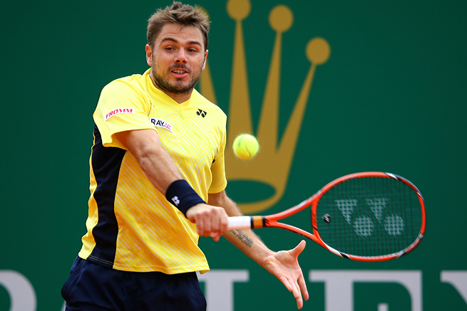 Stanislas Wawrinka hit 31 winners to David Ferrer's eight in their semifinal match at Monte Carlo.