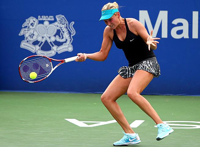 Donna Vekic beat Australian Open finalist Dominika Cibulkova 5-7, 7-5, 7-6 (4) in a tightly contested match.