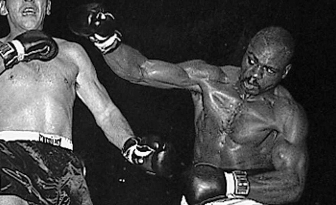 Rubin 'Hurricane' Carter was nicknamed by a promoter who described him as a 'raging, destructive force.'