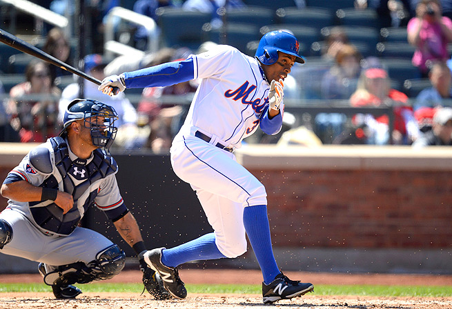 Curtis Granderson hasn't gotten a hit since April 14, and has only gotten one RBI in the same time.