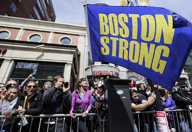 Boston turned out strong for this year's marathon.