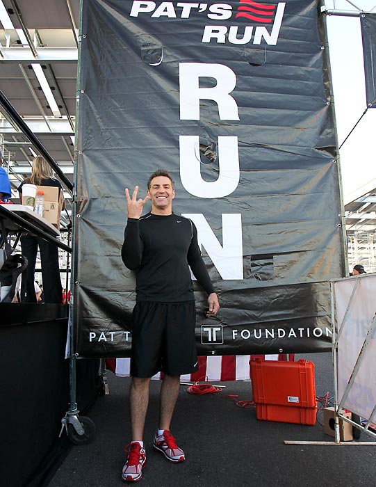 Kurt Warner at the 8th annual Pat's Run in April 2012.