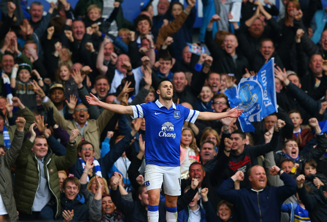 Everton winger Kevin Mirallas will miss the club's final three games with a groin tear.