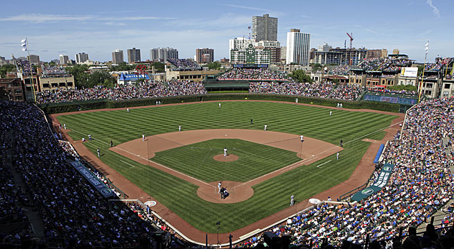 Wrigley Field hosted its first game on April 23, 1914 and is the only Federal League ballpark still standing.