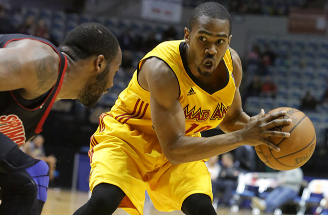 Fort Wayne Mad Ants star Ron Howard became the NBA D-League's all-time leading scorer on March 29.