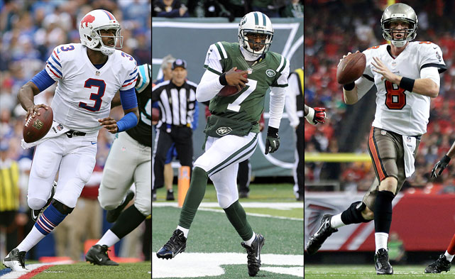 This non-descript quarterback crop did little to elicit excitement on the months-long road to the draft, and from that perspective it lived up to its billing. EJ Manuel was the only first-round selection and wound up starting just 10 of the Bills' 16 games, going 4-6 for 6-10 Buffalo. The Jets' Geno Smith lasted all the way until New York's No. 39 pick in the second round, but his rookie season was a thrill-a-minute rollercoaster ride from start to finish. Tampa Bay third-round pick Mike Glennon was actually the most pleasant, throwing for 19 touchdowns and 2,608 yards in 13 starts after the Josh Freeman benching.