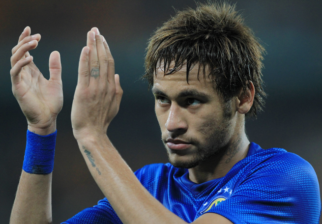 Neymar is one of nine players Brazil manager Luiz Felipe Scolari confirmed for his World Cup roster on Thursday.