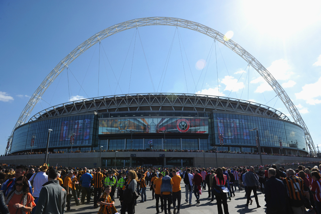 Wembley Stadium in London is one of the favorites to host the semifinals and final of the 2020 European championship now that Turkey has withdrawn its bid.
