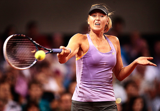 Maria Sharapova, who's still searching for her first title of 2014, will play Sara Errani in the semifinals.
