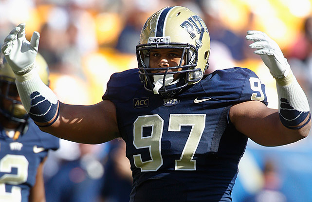 Some may wonder if Aaron Donald can be a dominant player at 6-foot-1 and 285 pounds, but even a cursory look at his tape should put any concerns to rest. In 2013, he amassed 11 sacks (the second time in his collegiate career he'd done so) and led the nation with 28.5 tackles for loss. He blew it up at the Senior Bowl and combine, firmly establishing himself as one of the best overall prospects in the 2014 class, and possibly the best defensive lineman outside of Jadeveon Clowney. This is a franchise-defining player in the right system. <italics>Draft projection: Top 10</italics>