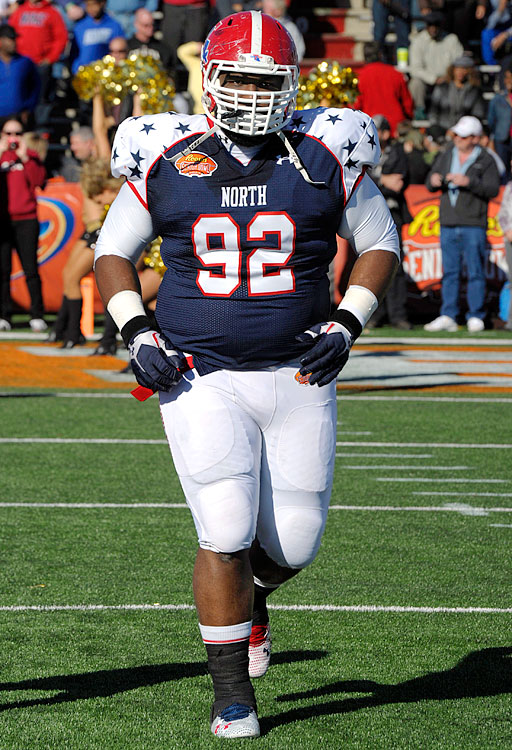 Justin Ellis was an undervalued high school prospect, but after excelling at the WAC and Conference USA levels, he woke up a lot of people with strong performances at the Shrine Game and during Senior Bowl week. Projects best as a nose tackle at this point, but if Ellis dropped about 15-20 pounds from his 6-foot-2, 334-pound frame and mastered a few fundamentals, he could be a multi-gap force. He already has the ability to shoot gaps at a surprising level for his size. <italics>Draft projection: Round 3/Round 4</italics> > <bold>GALLERY: Top 10 Quarterbacks</bold> <bold>> </bold><bold>GALLERY: Top 10 Running Backs</bold> <bold>> </bold><bold>GALLERY: Top 10 Wide Receivers</bold> <bold>> </bold><bold>GALLERY: Top 10 Tight Ends</bold> <bold>> </bold><bold>GALLERY: Top 10 Tackles</bold> <bold>> GALLERY: Top 10 Guards</bold> <bold>> </bold><bold>GALLERY: Top 10 Centers</bold> <bold>> GALLERY: Top 10 Defensive Ends</bold>