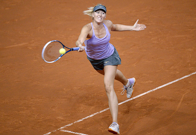 Maria Sharapova will play for her 30th career title on Sunday against fellow former No. 1 Ana Ivanovic.