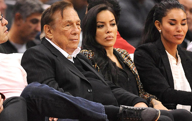 This isn't the first time longtime Clippers owner Donald Sterling has been caught making racist remarks.