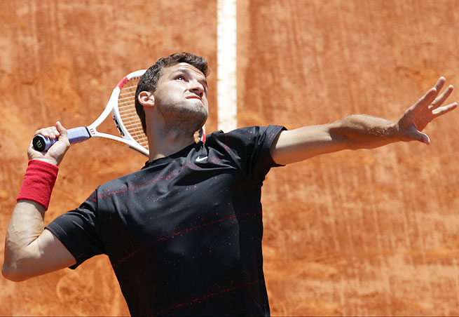 Top-seeded Grigor Dimitrov secured the Nastase Tiriac Trophy without dropping a set all tournament.
