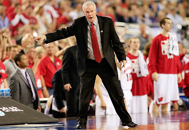 In 13 seasons at Wisconsin, Bo Ryan has a 321-121 record and five Big Ten titles.