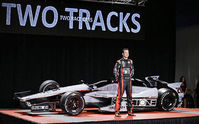 Kurt Busch could be rolling on some sweet wheels in the Indianapolis 500 on May 25.