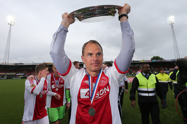 Ajax manager Frank de Boer has confirmed that Tottenham has made an approach to him about becoming the club's next manager.