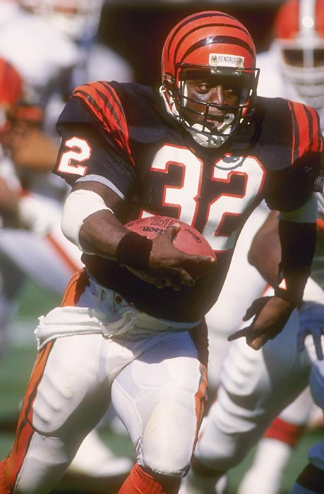 Cincinnati running back Stanley Wilson was infamously suspended on the eve of his team's 20-16 loss in Super Bowl XXIII, this after he was caught using drugs yet again (he previously had been suspended in 1985 and '87.) The third strike resulted in essentially a lifetime ban for the 27-year-old back.