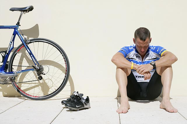 Lance Armstrong was banned for life and stripped of his seven Tour de France titles by cycling's governing body after a report asserted that he had cheated throughout his career.
