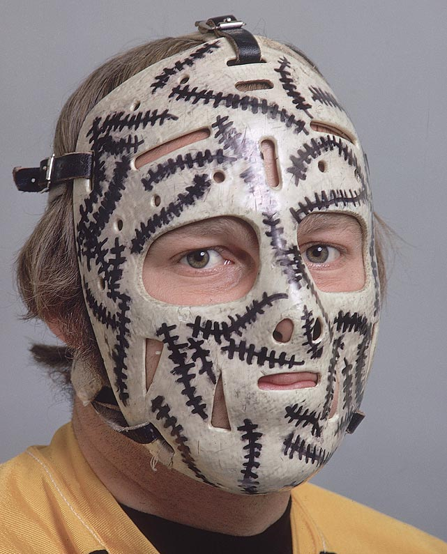 The Boston Bruins goalie surely knew what was coming in any given game and it inspired his now classic mask.