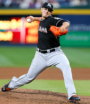 Jose Fernandez pitched lights-out against the Braves, striking out 14 and giving up no runs in eight innings.