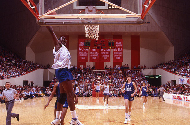 A pre-NBA (and pre-Nike) Michael Jordan stole the show in Bloomington in the summer of 1984.