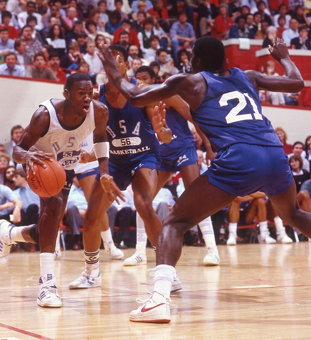Michael Jordan s sneakers from 1984 Olympic gold medal game up for auction   8a39d90933