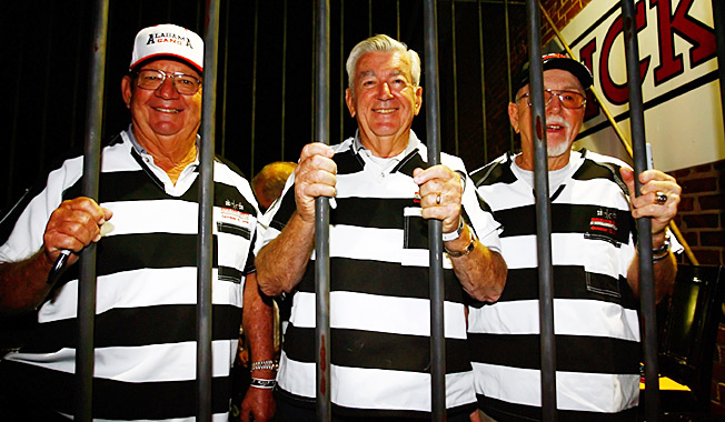 Belly up to the bars, boys: The Alabama Gang (L-R) Donnie Allison, Bobby Allison, and Red Farmer.