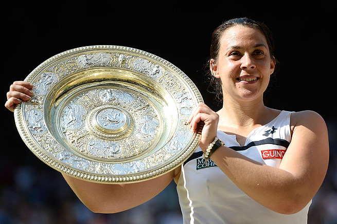Retired tennis player Marion Bartoli won her first and only Grand Slam at Wimbledon last year.