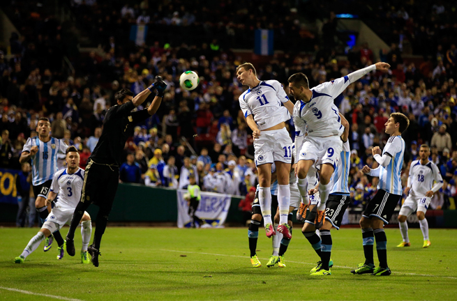 Edin Dzeko (11) and Vedad Ibisevic (9) will lead Bosnia-Herzegovina's attack this summer at the World Cup in Brazil.