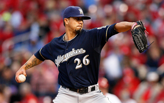 Kyle Lohse is off to arguably his strongest start yet in his age-35 season, with a 2.70 ERA in six starts.