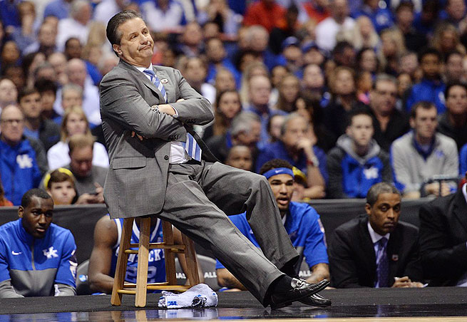 John Calipari alluded to his need for hip replacement surgery late in Kentucky's 2013-14 season.