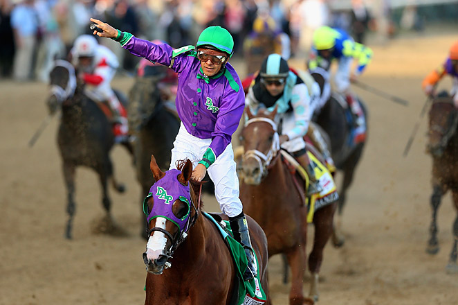 California Chrome will look to take another step toward a Triple Crown at the Preakness Stakes.