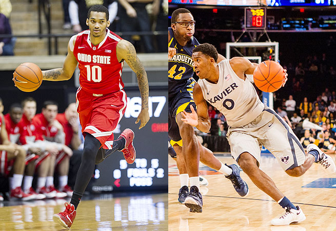 The Big Ten and Big East share several states in their combined geographical footprint, including Ohio.