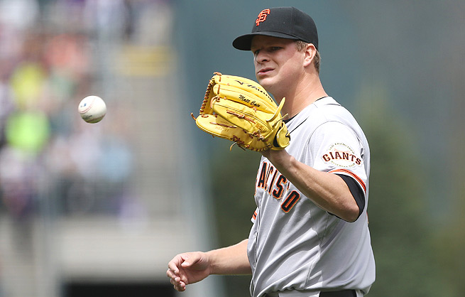 Matt Cain's ERA ballooned up to 4.00 last season, and he's still struggling through his first five starts this year.