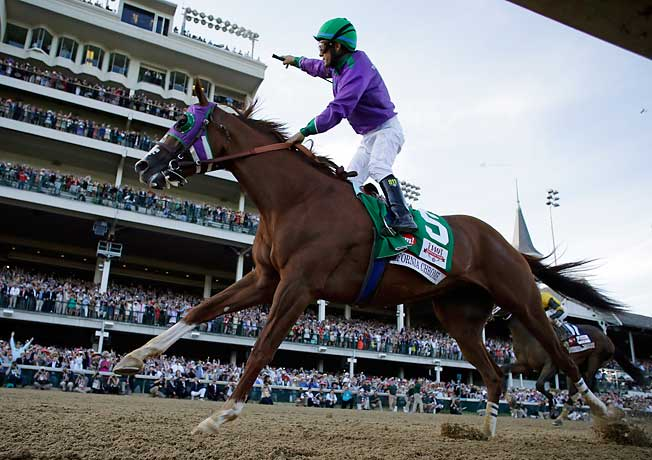 For most people, California Chrome's Kentucky Derby win was the beginning and end of racing season.